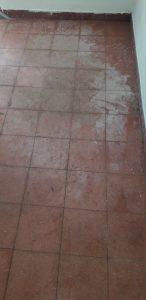 לפני ליטוש רצפה מצוירת